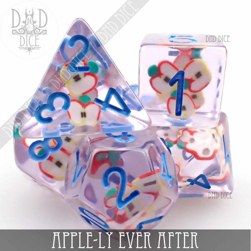 Apple-ly Ever After Dice Set
