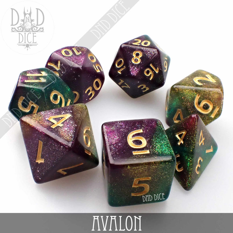 Avalon Dice Set