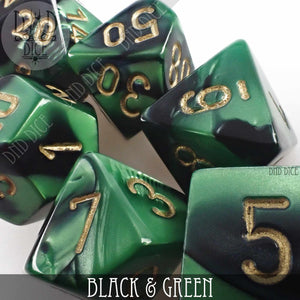 Black & Green Build Your Own Set