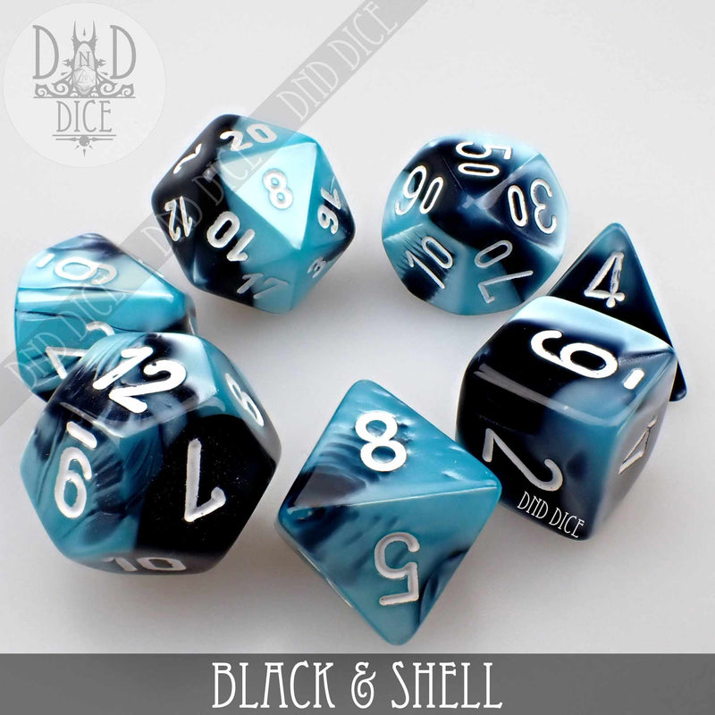 Black & Shell Build Your Own Set