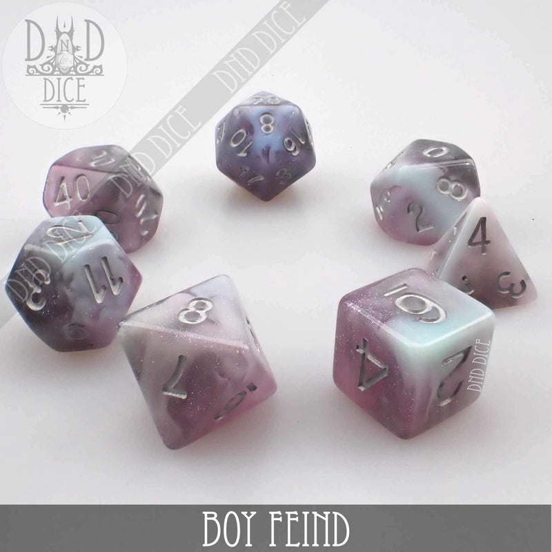 Boy Fiend Dice Set