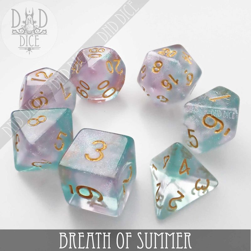 Breath of Summer Dice Set