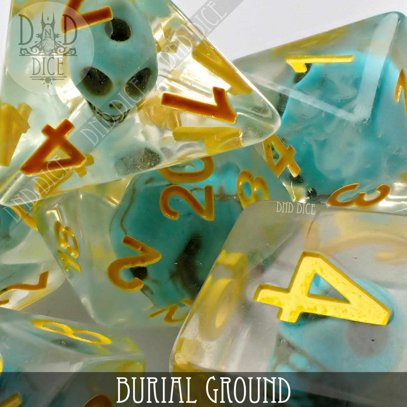Burial Ground Dice Set (Limited Edition)