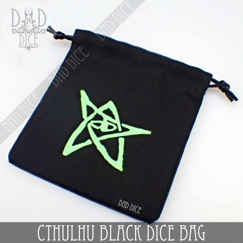 Call of Cthulhu BLACK Dice Bag