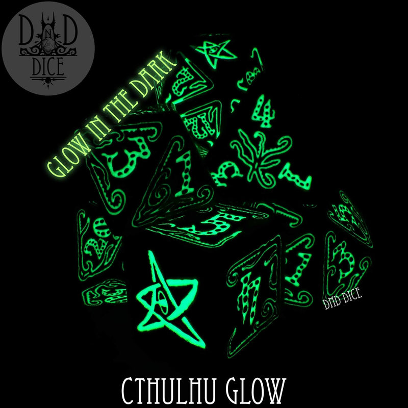 Call of Cthulhu Glow in the Dark Dice Set
