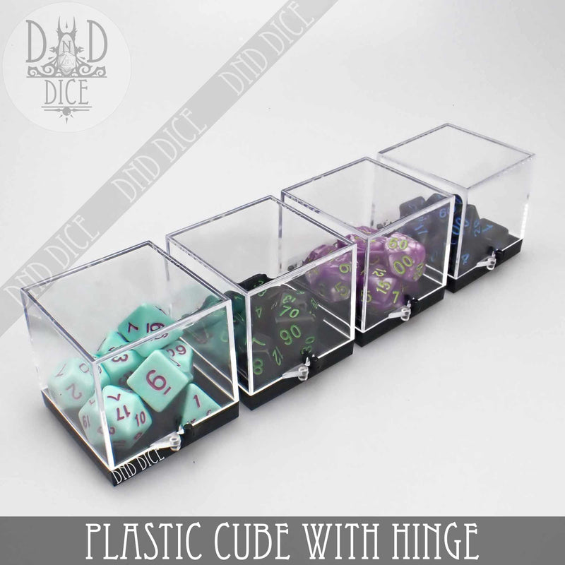 Plastic Cube with Hinge