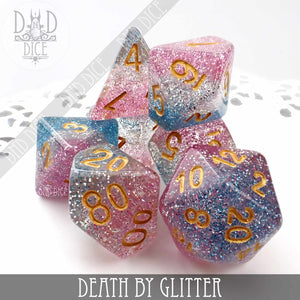 Death By Glitter Dice Set