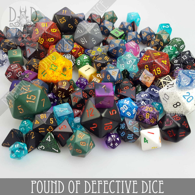 1 Pound of Defective Dice