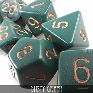 Dusty Green Build Your Own Set