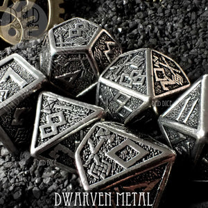 Dwarven Metal Dice