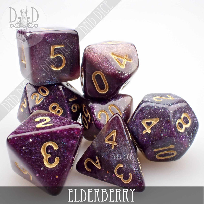 Elderberry Dice Set
