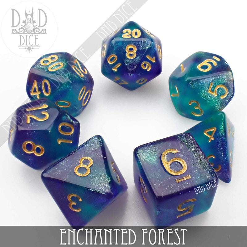Enchanted Forest Dice Set
