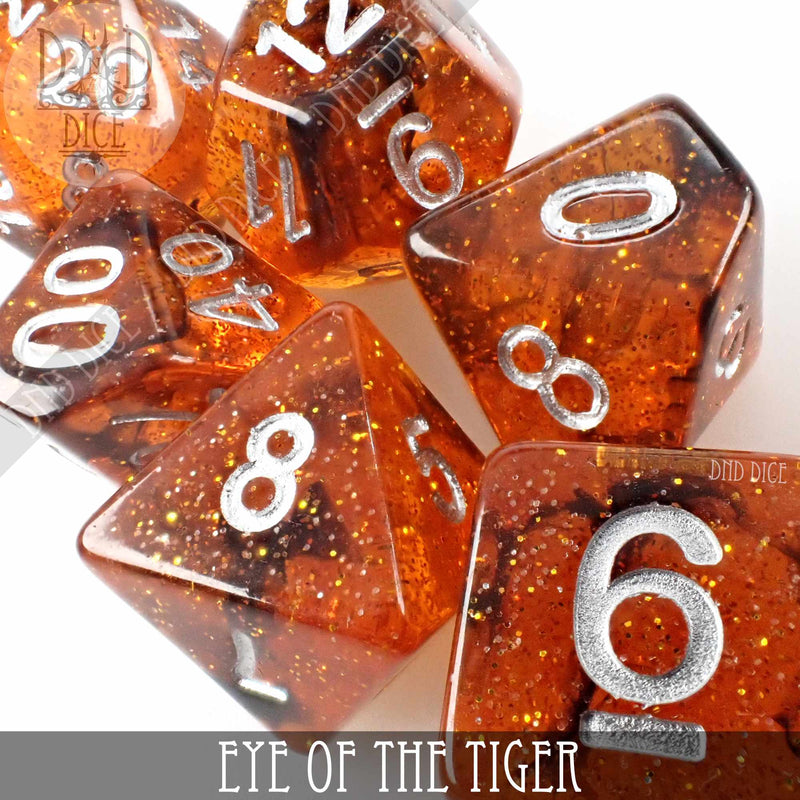 Eye of the Tiger Dice Set