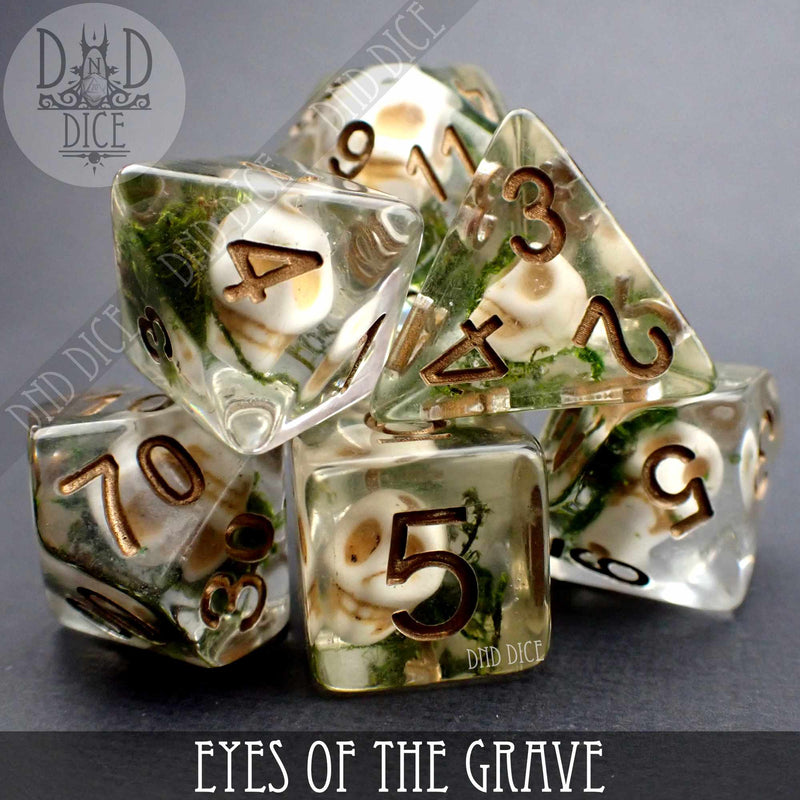 Eyes of the Grave Dice Set