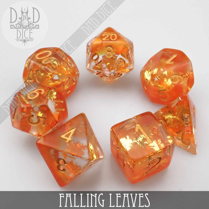 Falling Leaves Dice Set (Limited Edition)