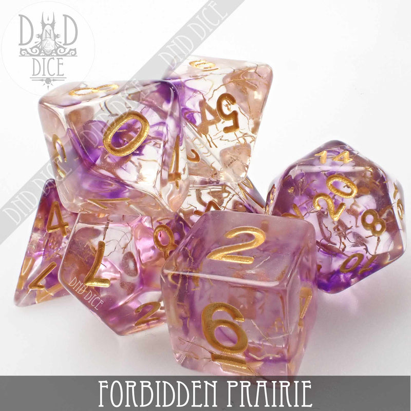 Forbidden Prairie Dice Set