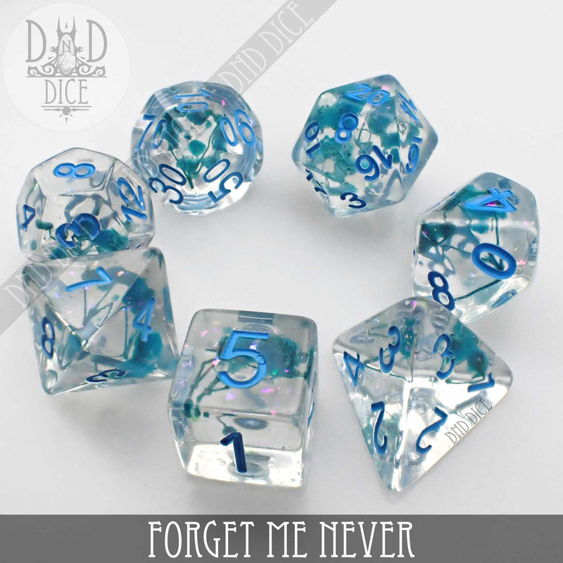 Forget Me Never Dice Set (Limited Edition)