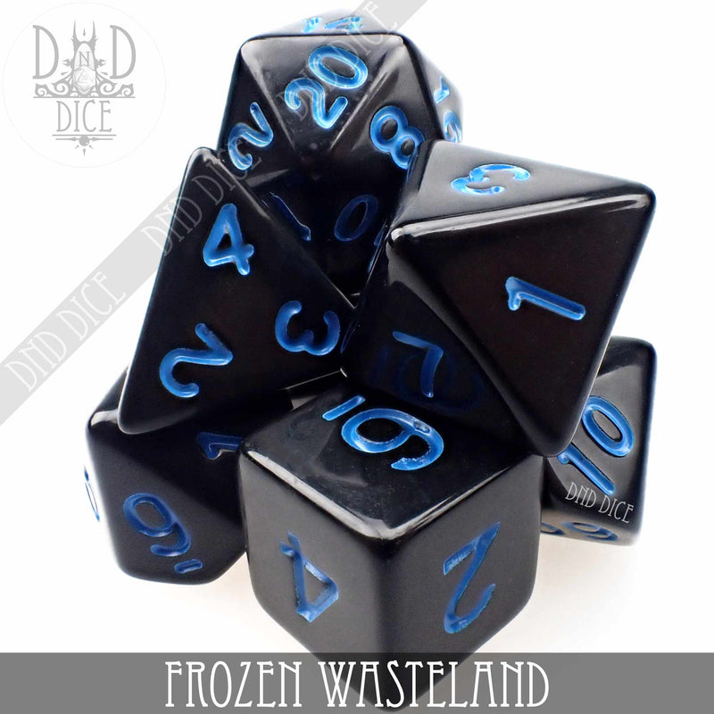 Frozen Wasteland Dice Set