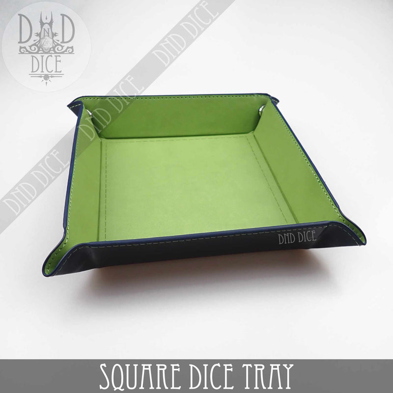 Square Dice Tray (6 Colors)