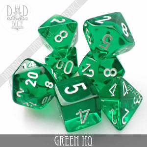 Green HQ Build Your Own Set