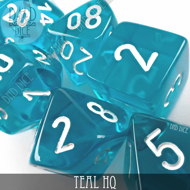 Teal HQ Build Your Own Set