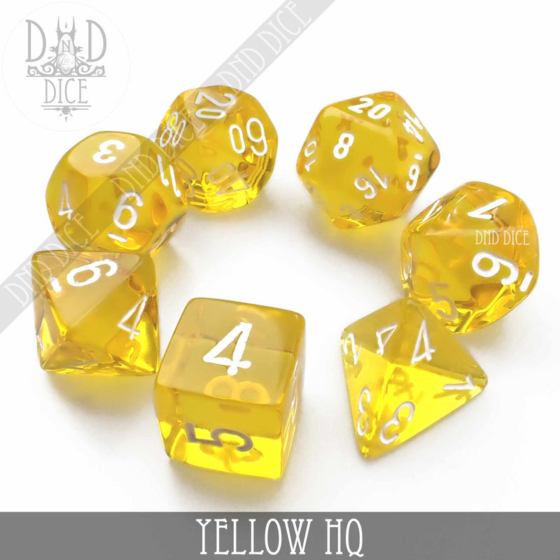 Yellow HQ Build Your Own Set