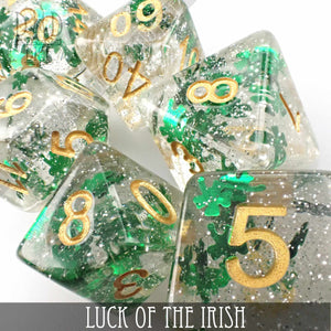 Luck of the Irish Dice Set