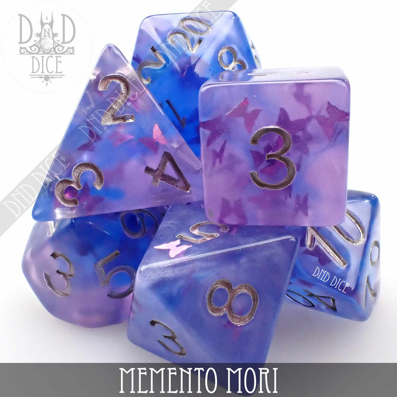 Memento Mori Dice Set
