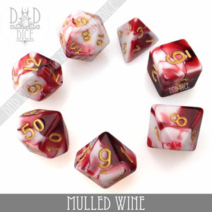 Mulled Wine Dice Set