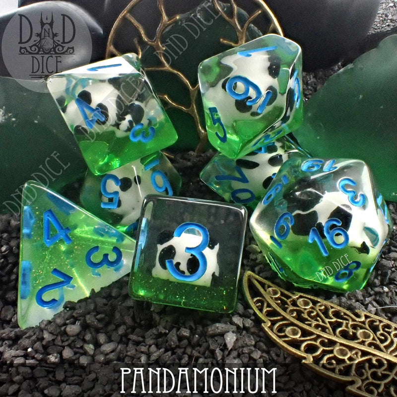 Pandamonium Dice Set