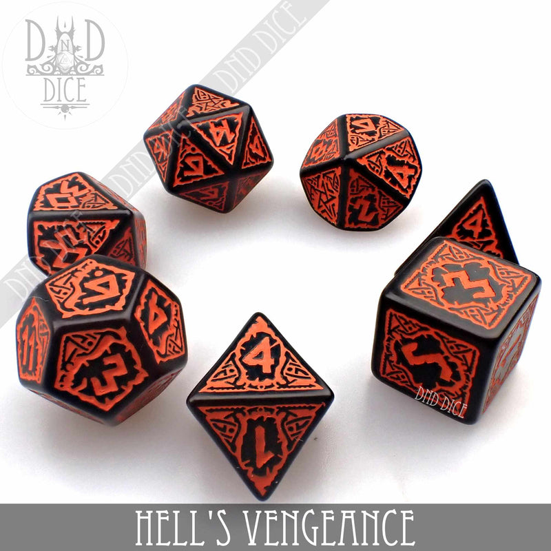 Pathfinder - Hell's Vengeance Dice Set
