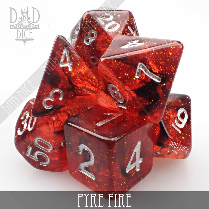 Pyre Fire Dice Set