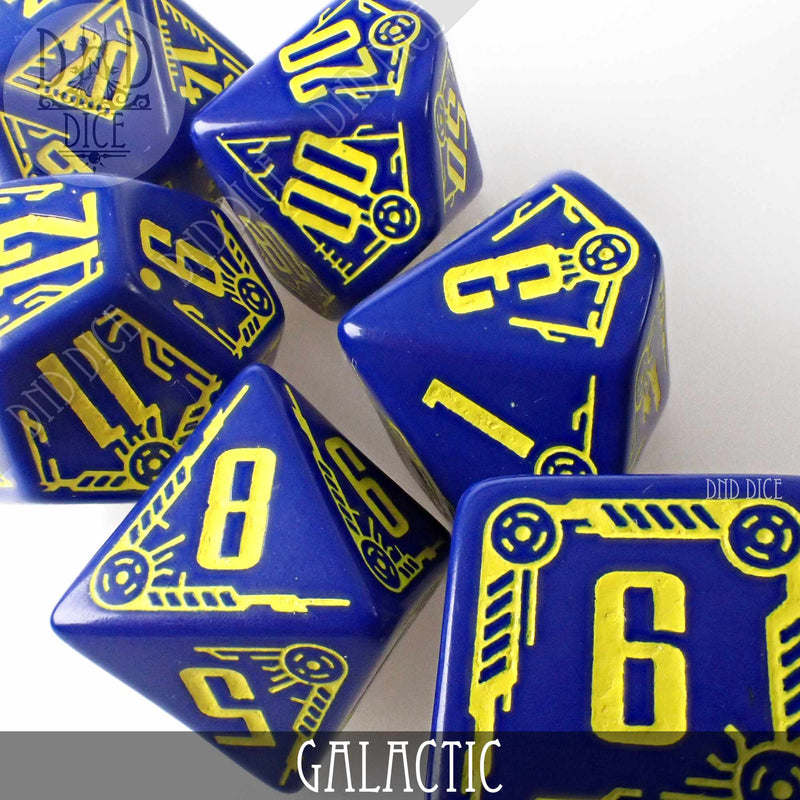 Galactic Dice Set