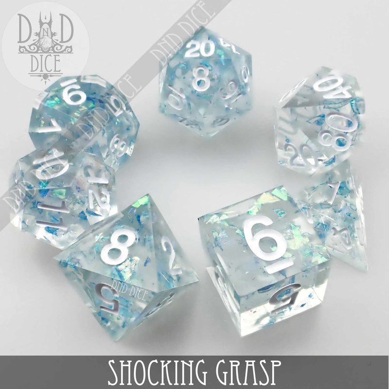 Shocking Grasp Handmade Sharp Edge Dice Set