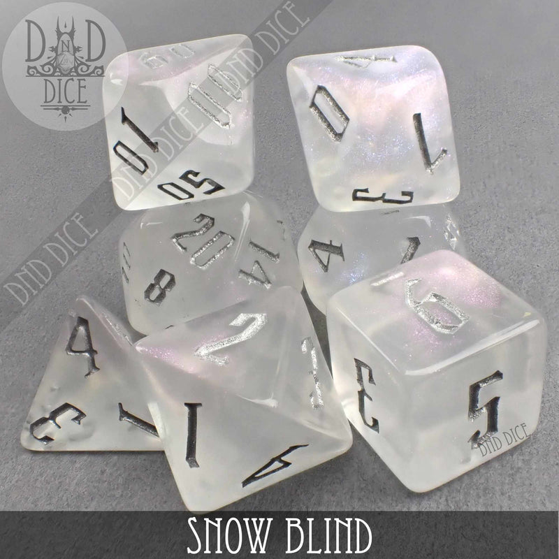 Snow Blind Dice Set