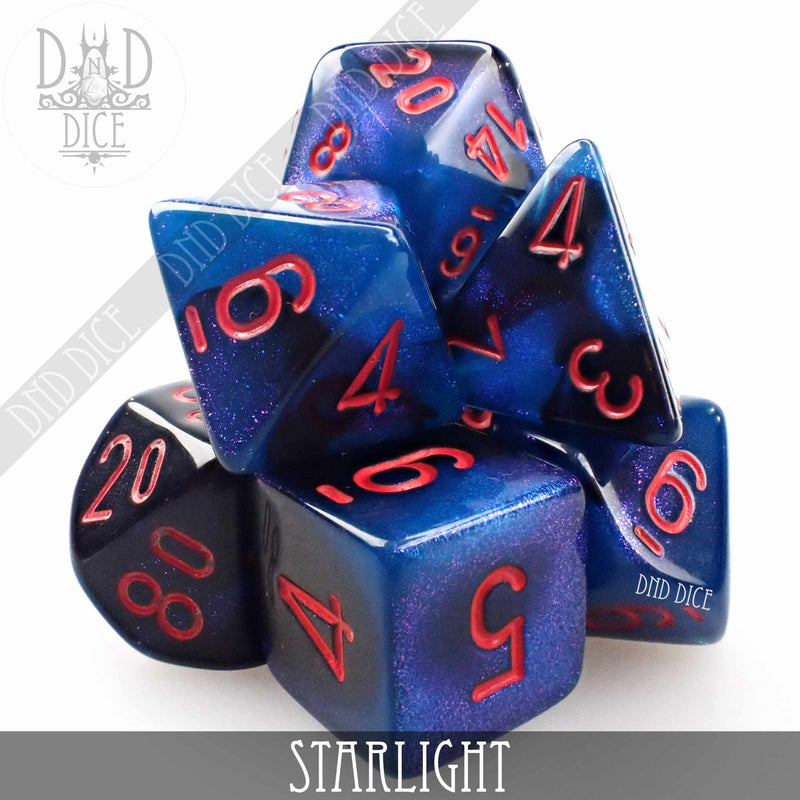 Starlight Dice Set