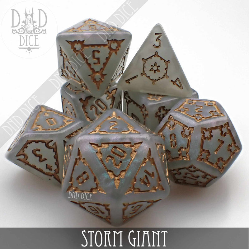 Storm Giant Dice Set (Oversize)