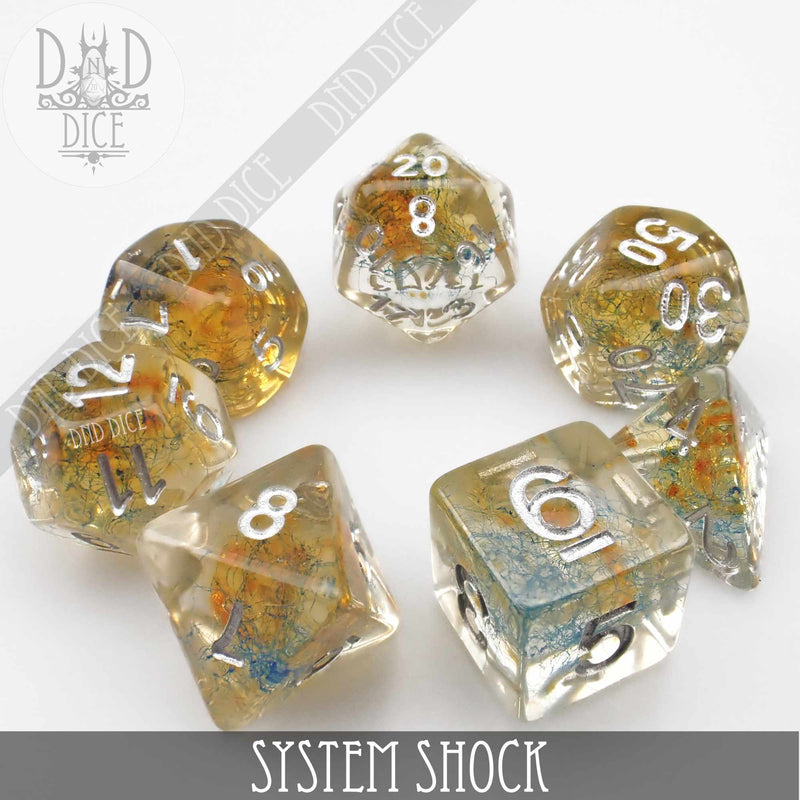 System Shock Dice Set