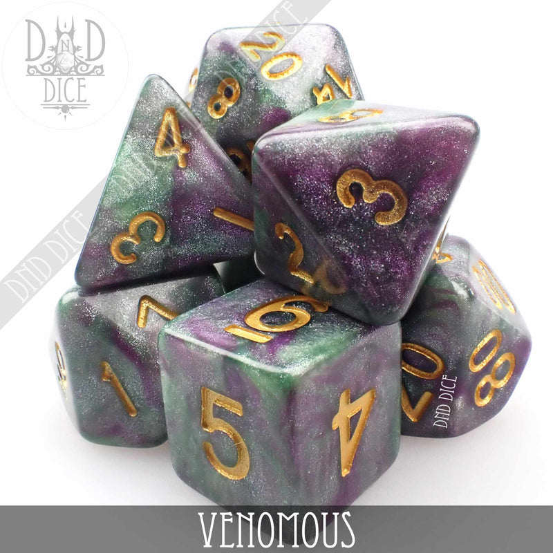 Venomous Dice Set
