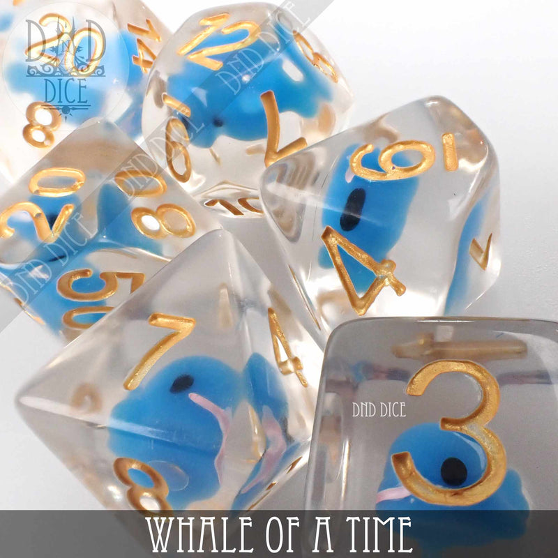 Whale of a Time Dice Set