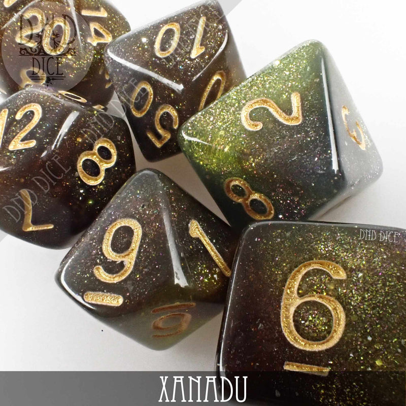 Xanadu Dice Set