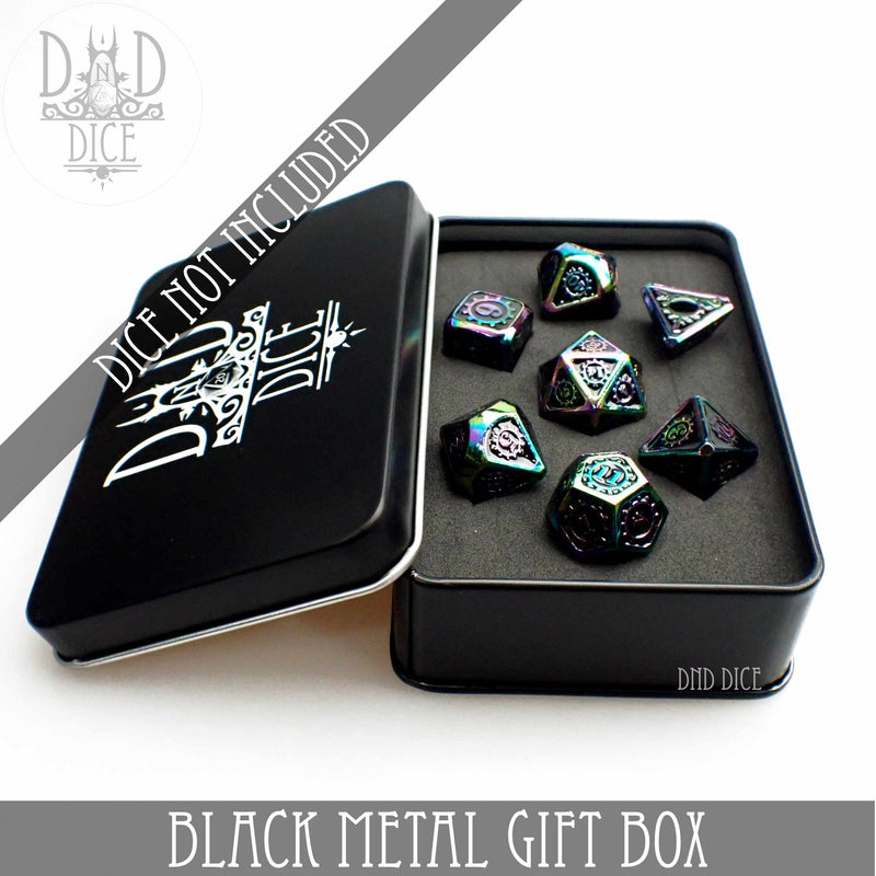 Black Metal Gift Box