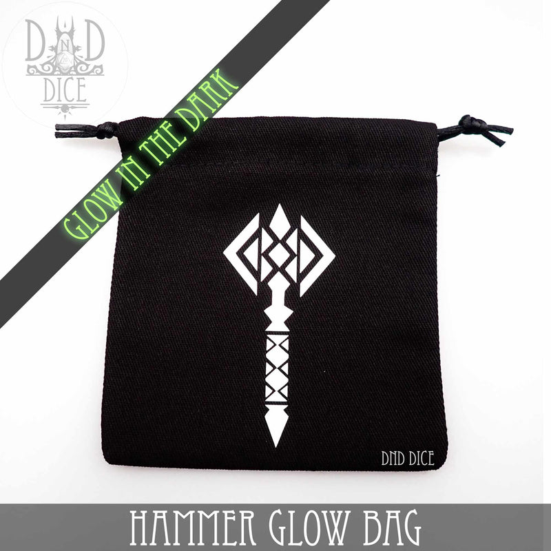 Hammer Glow In The Dark Dice Bag