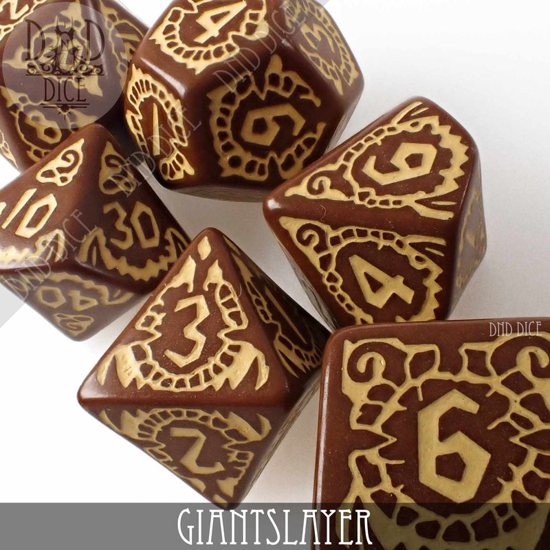 Pathfinder - GiantSlayer Dice Set