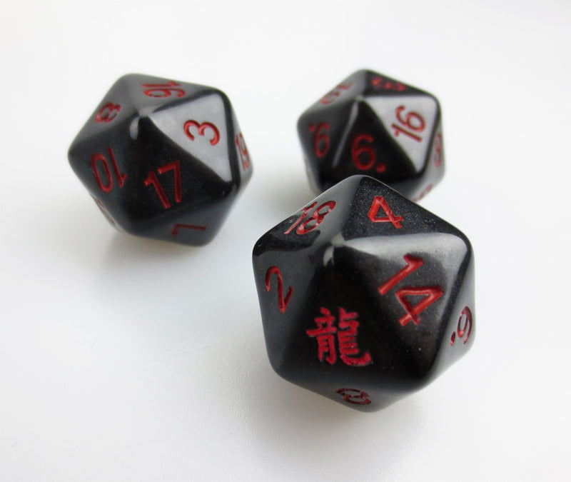 Custom Dice 25mm D20