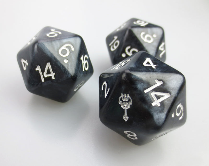 Custom Dice 34mm D20