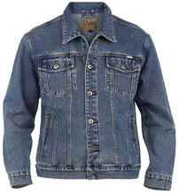 Load image into Gallery viewer, Duke Trucker Style Denim Jacket K