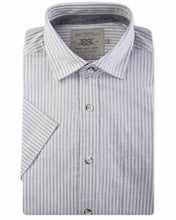 Load image into Gallery viewer, Light Grey Bar Harbour Short Sleeve Shirt K