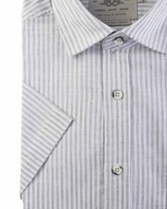 Light Grey Bar Harbour Short Sleeve Shirt K