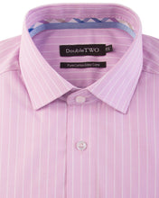 Load image into Gallery viewer, Double Two Pink Formal Shirt K